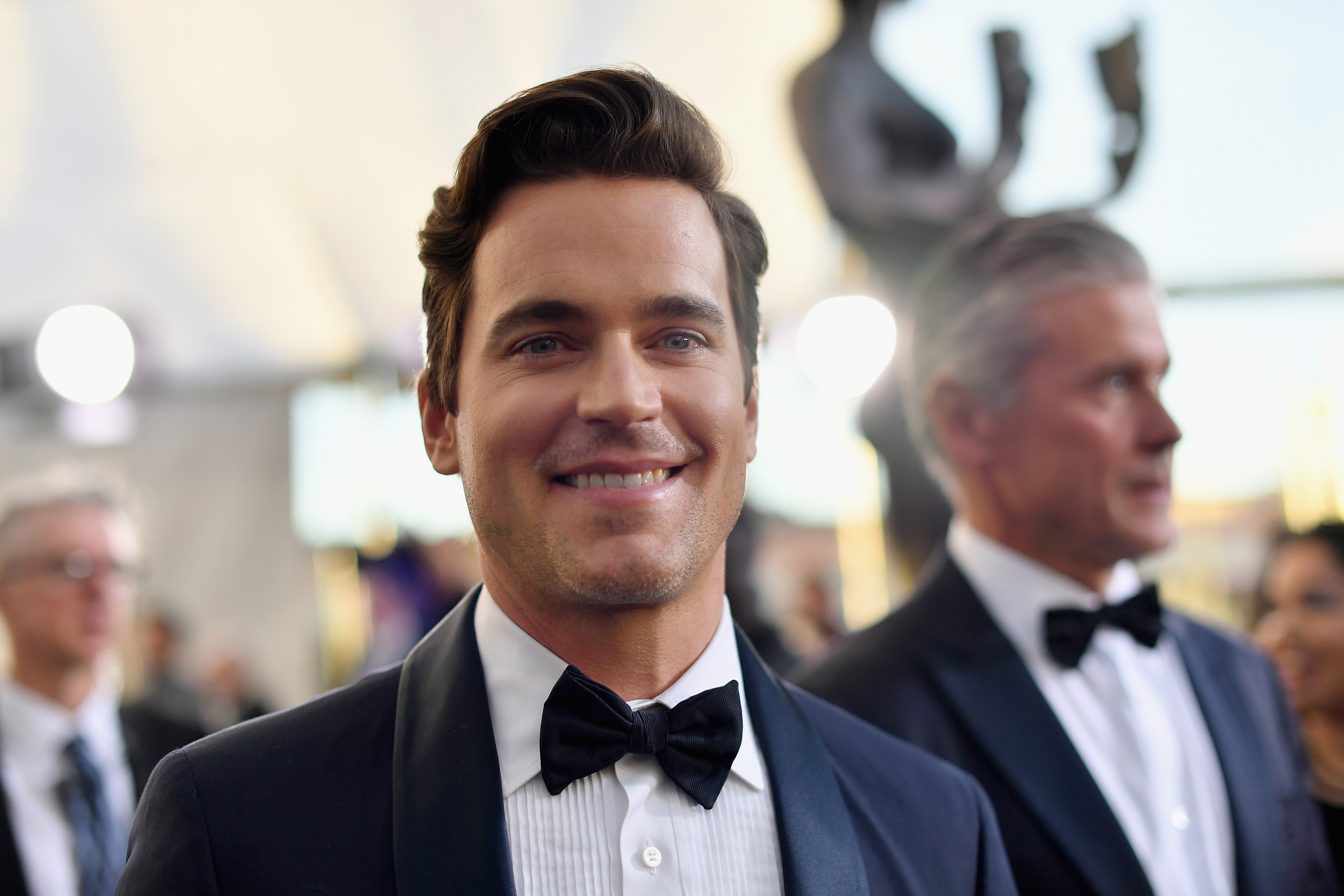 Matt Bomer attends the 25th Annual Screen ActorsGuild Awards at The Shrine Auditorium on January 27, 2019 in Los Angeles, California.