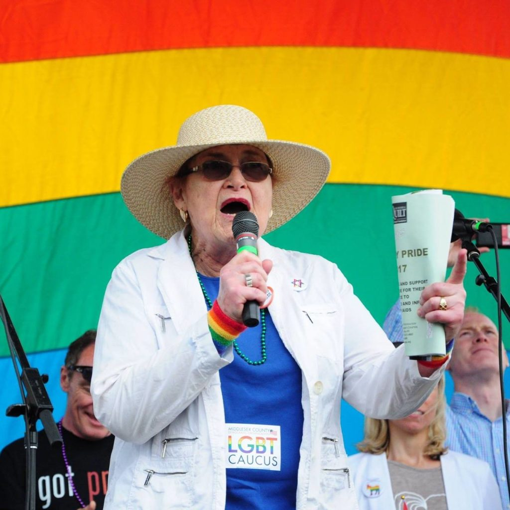 trans advocate Barbra 'babs' siperstein was remembered as a 'trailblazer' for equality.