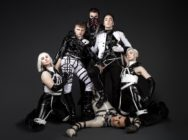 Picture of Hatari, the self-described industrial BDSM band representing Iceland at Eurovision