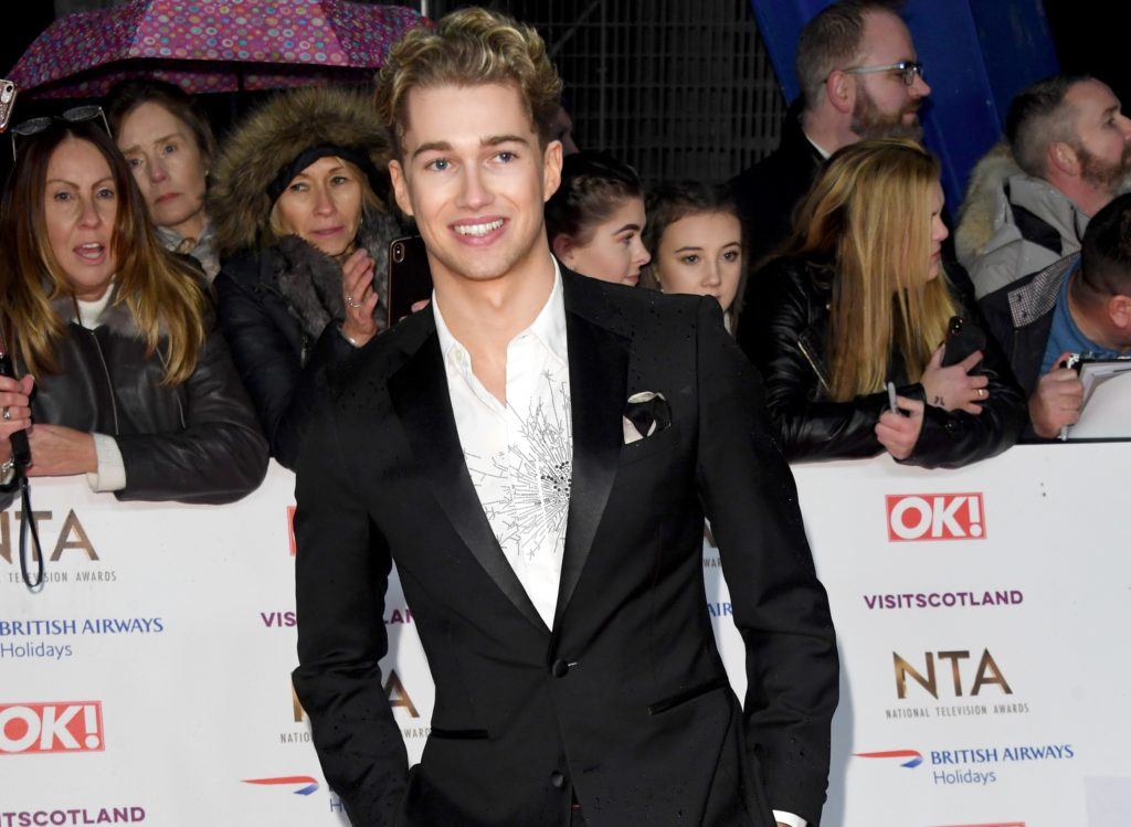 AJ Pritchard attends the National Television Awards held at the O2 Arena on January 22, 2019 in London, England.