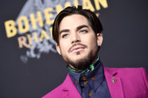 Adam Lambert attends Bohemian Rhapsody New York Premiere at The Paris Theatre on October 30, 2018 in New York City.