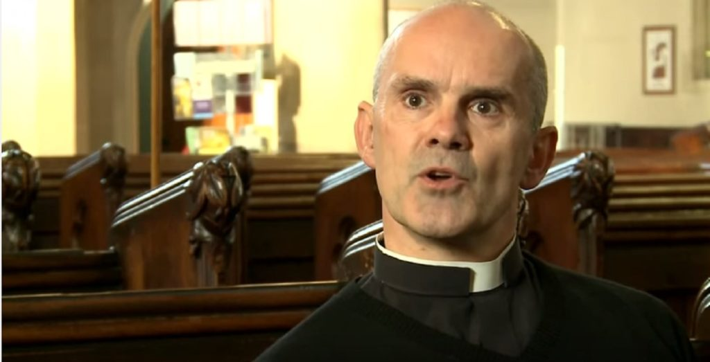 Church of England priest Andrew Foreshew-Cain