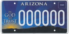 Arizona is allegedly funding Alliance Defending Freedom via the 'In God We Trust' license plates