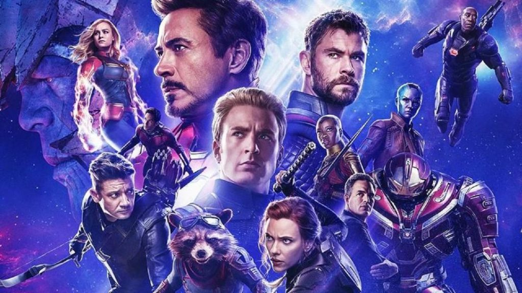A poster for Avengers: Endgame