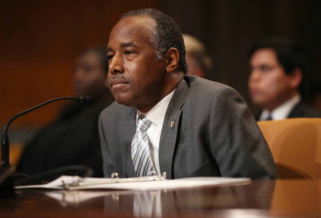 HUD Secretary Ben Carson testifies before Congress