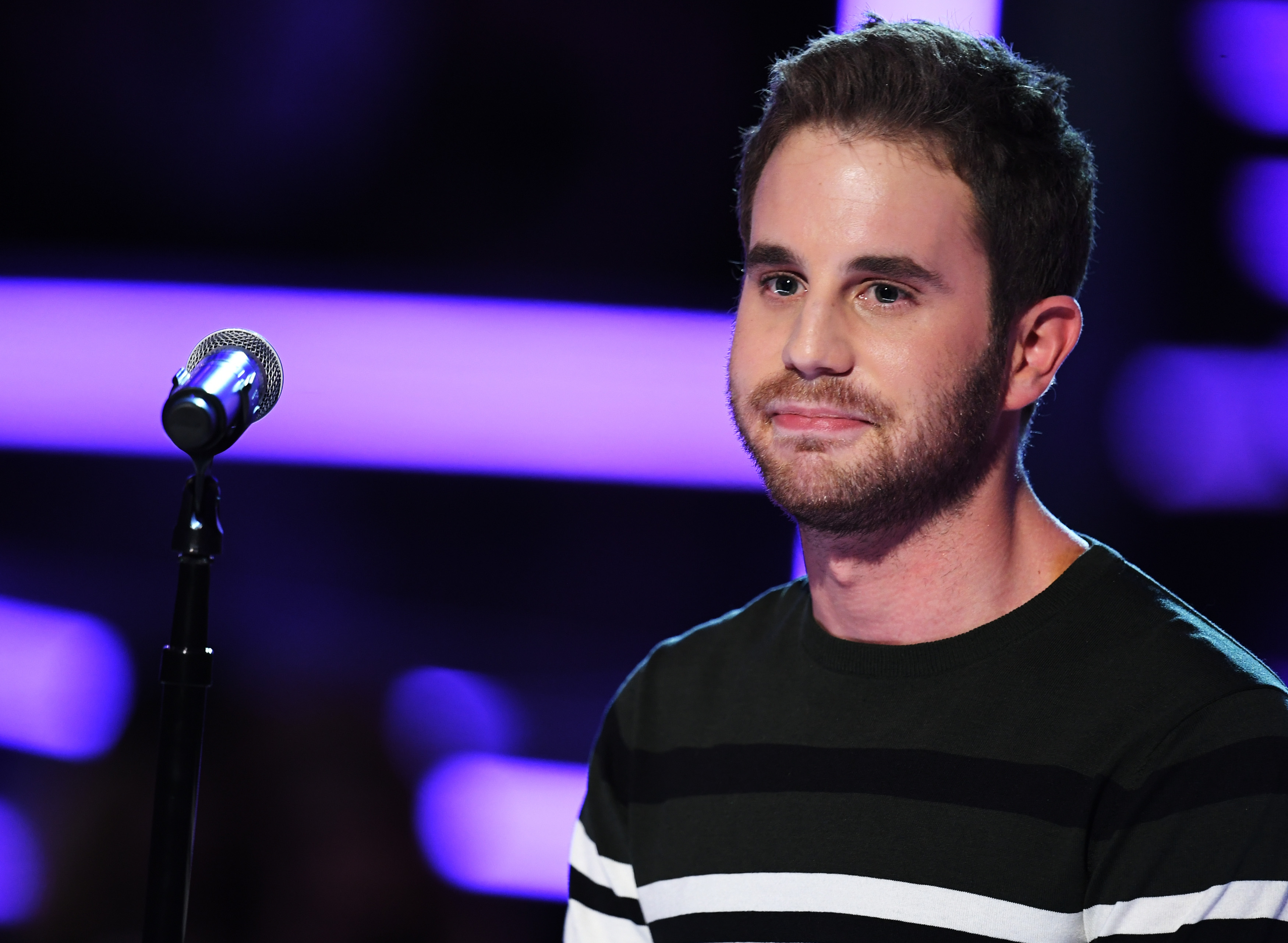 Actor Ben Platt performs onstage during the 60th Annual GRAMMY Awards at Madison Square Garden on January 28, 2018 in New York City.