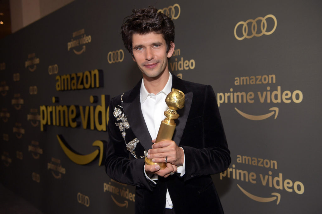 Ben Whishaw at the Golden Globes