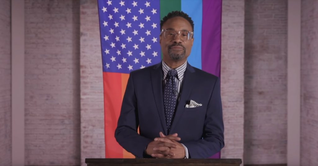 Pose star Billy Porter gives an LGBT+ State of the Union address