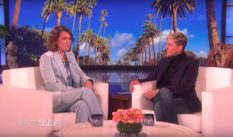 Brandi Carlile performed on the Ellen DeGeneres show on February 14.