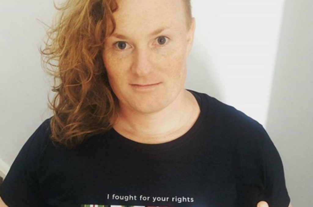 Bridget Clinch stood up to the transgender policies of the ADF in 2010
