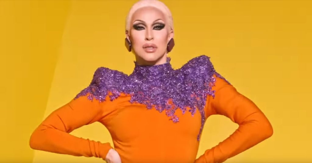 Brooke Lyn Hytes appears on RuPaul's Drag Race season 11