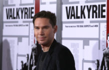 Director Bryan Singer arrives on the red carpet of the Los Angeles premiere of 'Valkyrie' at the Directors Guild of America on December 18, 2008 in Los Angeles, California.