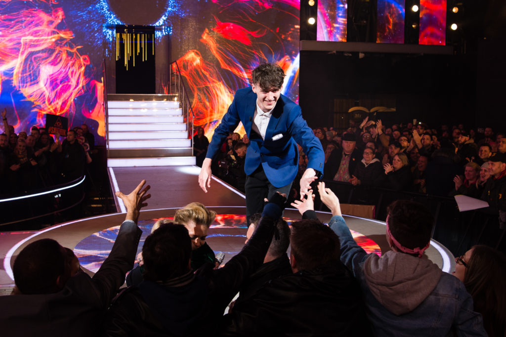 Cameron Cole wins the Big Brother Final 2018 at Elstree Studios on November 05, 2018 in Borehamwood, England.