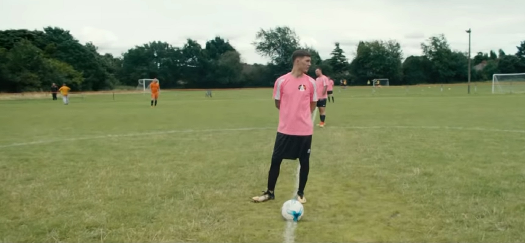 Black Country Fusion FC players in the Carling #MadeLocal campaign