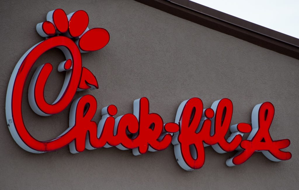 A Chick-fil-A outlet of the fast food chain that would have benefited from the bill the Texas LGBT caucus killed.