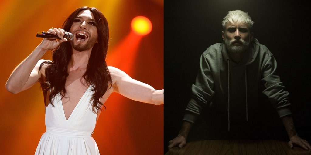 Austrian singer and Eurovision Song Contest 2014 winner Conchita Wurst