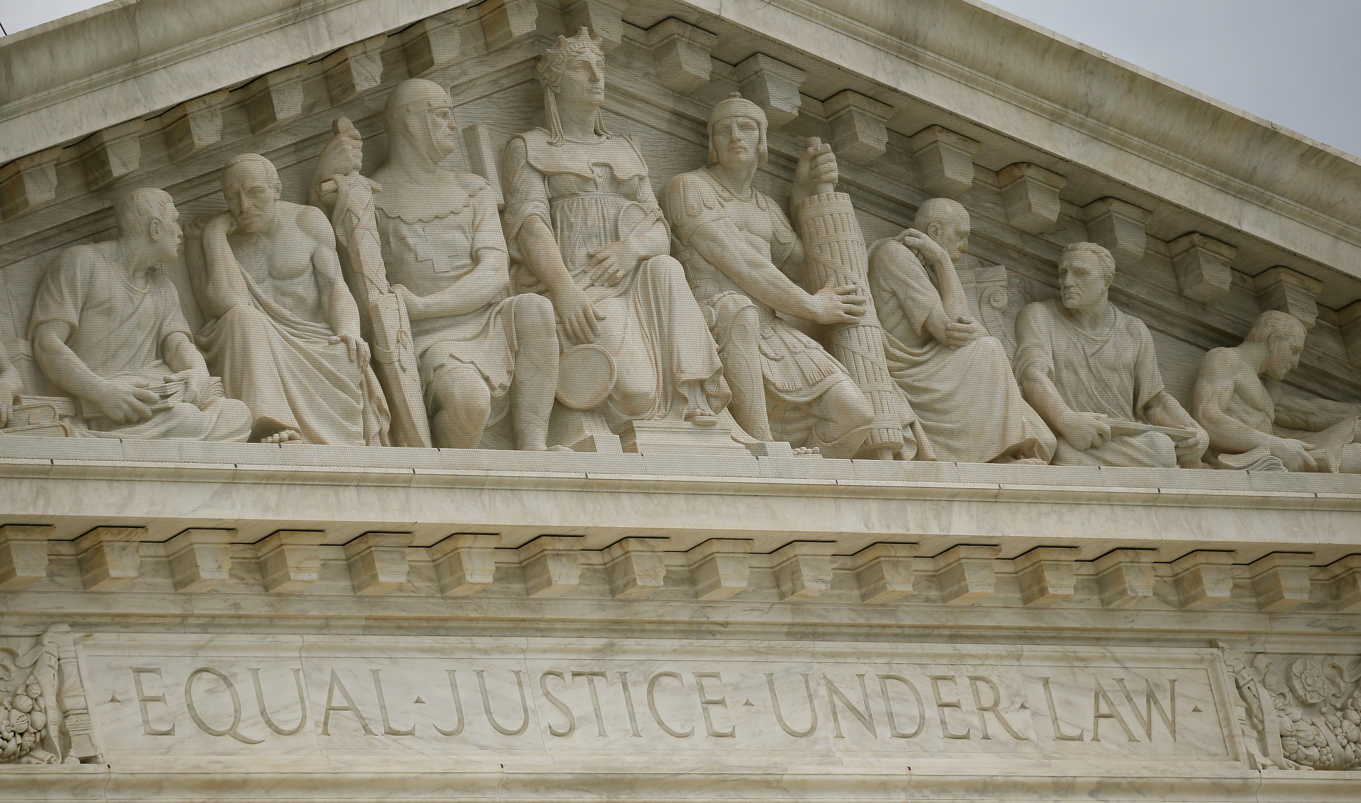 Front of The Supreme Court.