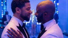 Jussie Smollett and Toby Onwumere on Empire