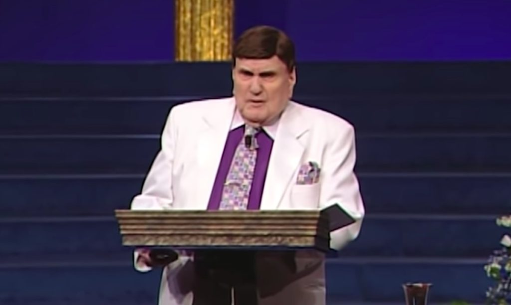 Ernest Angley, an anti-gay Evangelist accused of sexual abuse