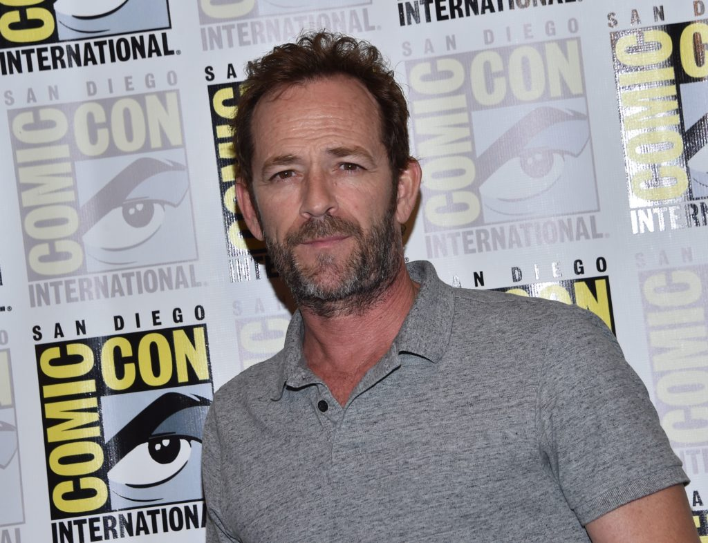 Is luke perry gay