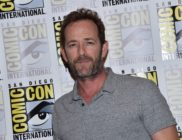 "Actor Luke Perry arrives for the press line of ""Riverdale"" at Comic Con in San Diego, July 21, 2018."