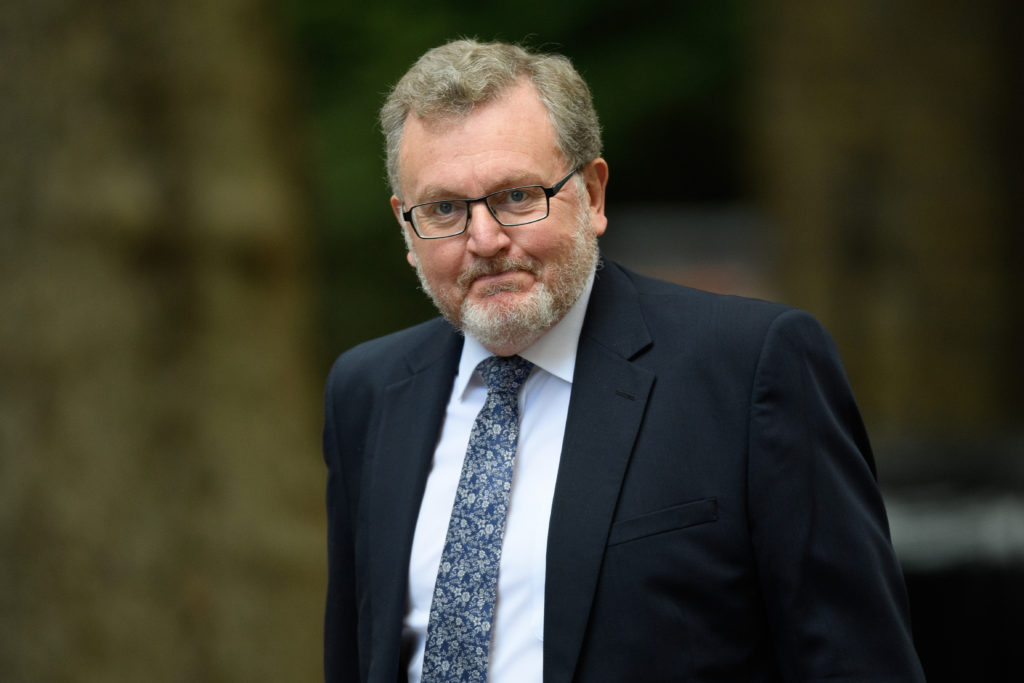 Scottish Secretary David Mundell arrives in Downing Street.