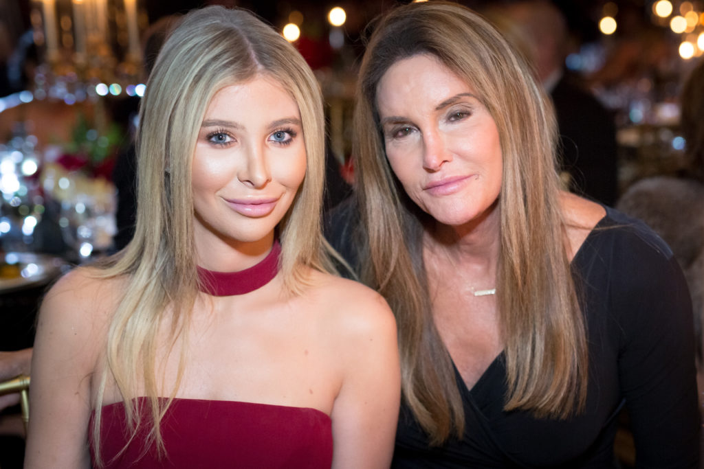 Caitlyn Jenner with girlfriend Sophia Hutchins.
