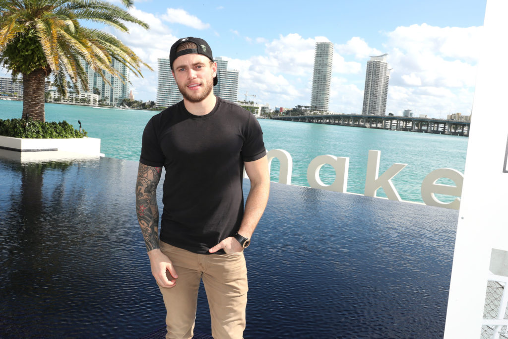 Gus Kenworthy, who will star in Ryan Murphy's American Horror Story season 9, attends the Samsung /make Creators Brunch During Miami Art Week on December 07, 2018 in Miami, Florida.