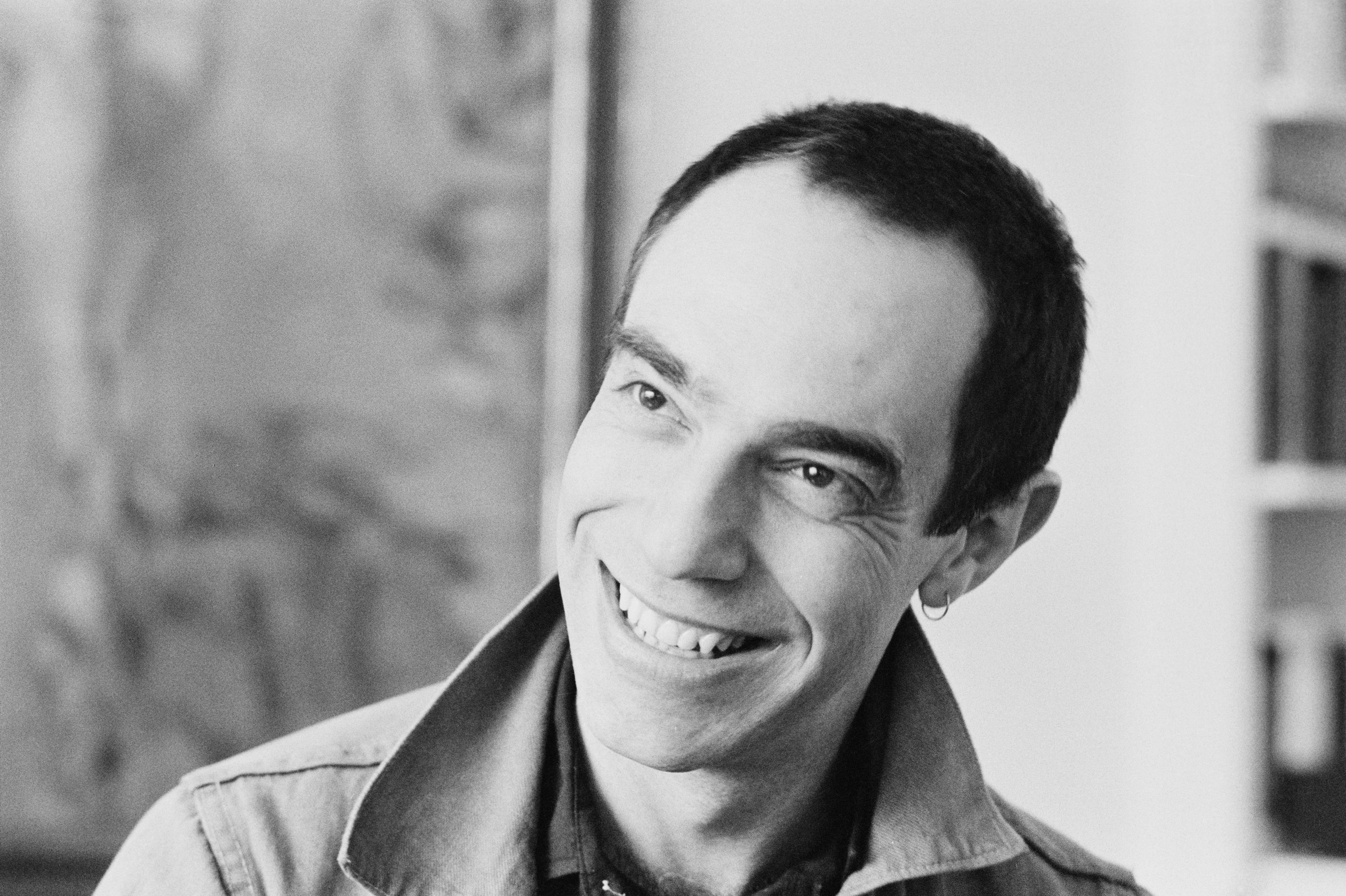 English director, stage designer, artist and author Derek Jarman pictured in May 1980, was honoured with a blue plaque.