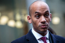 Independent MP Chuka Umunna who authored a progressive manifesto that makes no mention of LGBT rights.