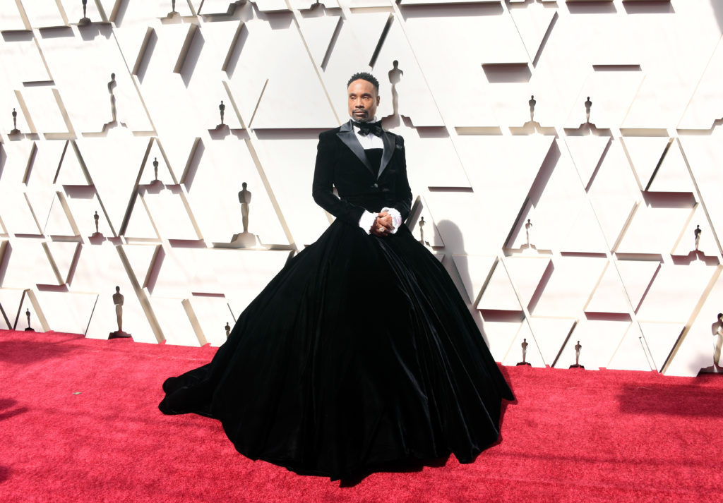 Billy Porter in tux dress 91st Annual Academy Awards.
