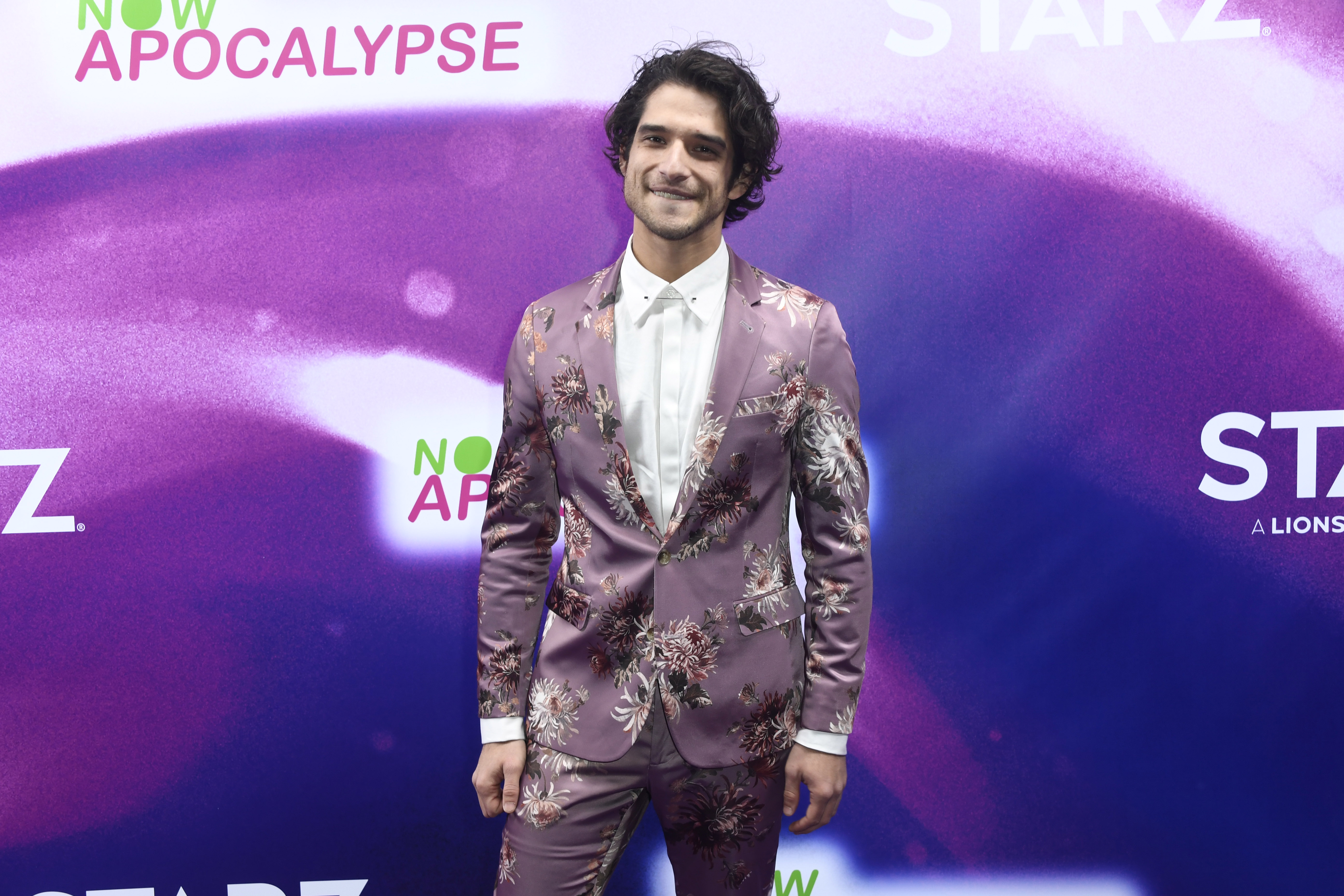Tyler Posey attends the premiere of 'Now Apocalypse' where he plays a gay character for the first time.