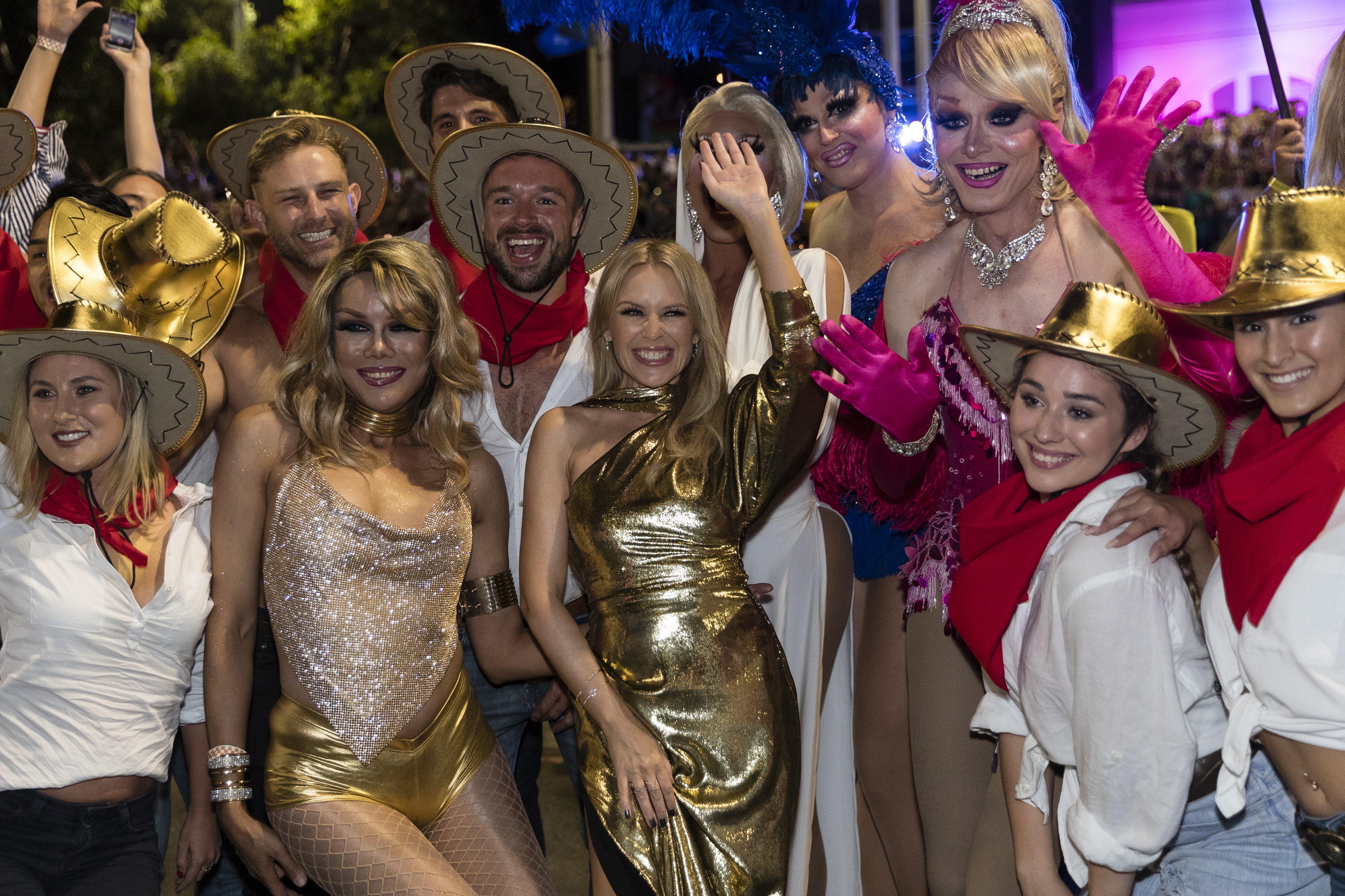 Kylie Minogue at Sydney Mardi Gras 2019
