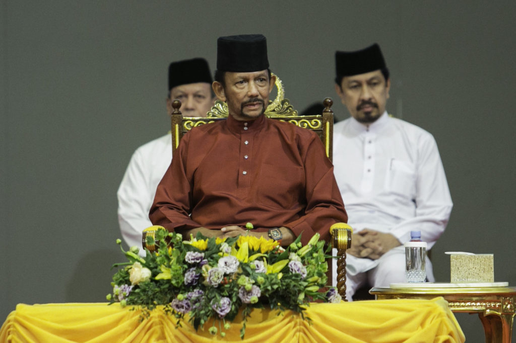 The Sultan of Brunei has recently introduced new laws which could see gay people stoned to death