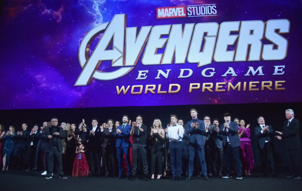 "World Premiere of Marvel Studios' ""Avengers: Endgame"" at the Los Angeles Convention Center on April 23, 2019 in Los Angeles, California."