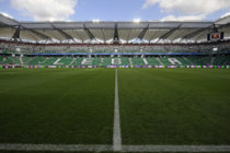 inside the Polish Army Stadium before the Ekstraklasa match between Legia Warsaw and WKS Slask Wroclawon at the Polish Army Stadium on August 21, 2011 in Warsaw, Poland.