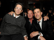 Fast and the Furious director Rob Cohen, Marc Moss and Matthew Fox in Los Angeles, 2012