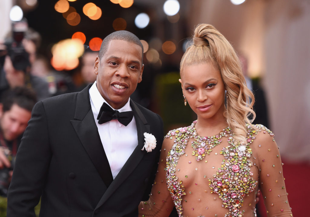 "Beyonce and Jay-Z attend the ""China: Through The Looking Glass"" Costume Institute Benefit Gala at the Metropolitan Museum of Art on May 4, 2015."