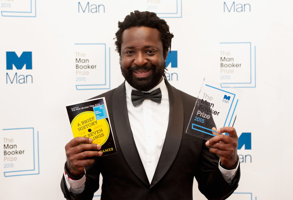Marlon James won the 2015 Man Booker Prize for 'A Brief History of Seven Killings.' Marlon James won the 2015 Man Booker Prize for 'A Brief History of Seven Killings.'