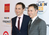 Actor Jim Parsons and husband Todd.
