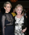 Actresses Sarah Paulson (L) and Holland Taylor attend the 32nd annual Television Critics Association Awards during the 2016 Television Critics Association Summer Tour at The Beverly Hilton Hotel on August 6, 2016 in Beverly Hills, California.