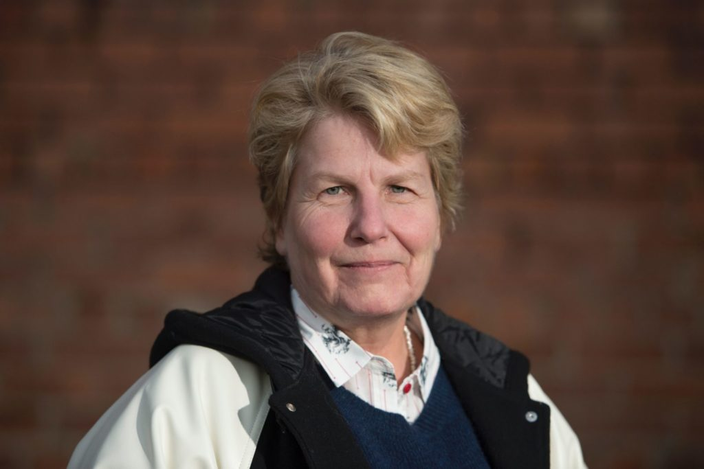 Sandi Toksvig, a joint founder of the Women's Equality Party