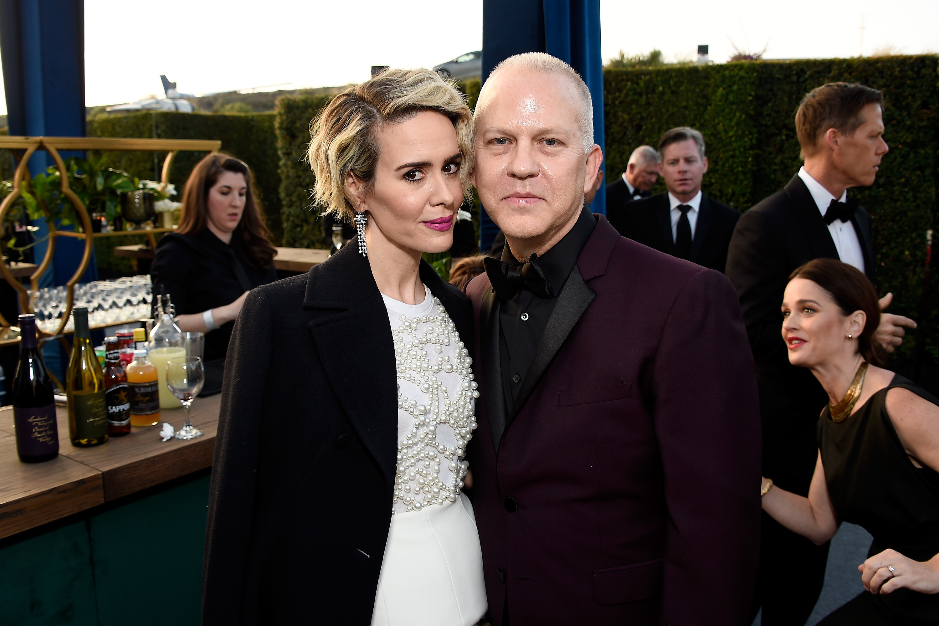 Ryan Murphy And Sarah Paulson Reveal Cast For Netflix Series Ratched