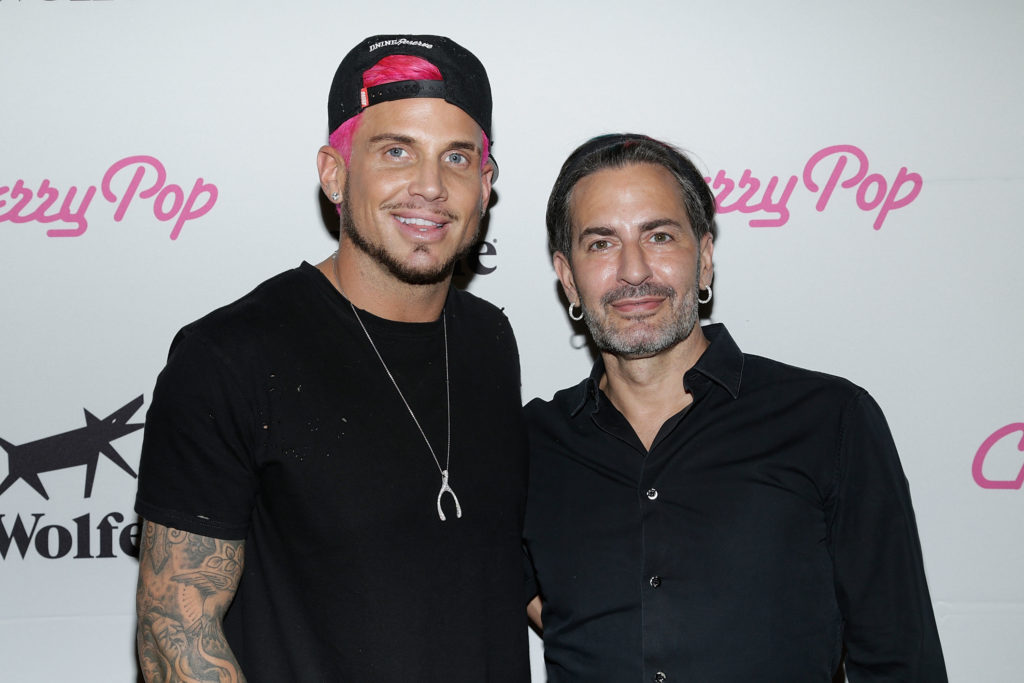 Newly weds: Char Defrancesco and fashion designer Marc Jacobs