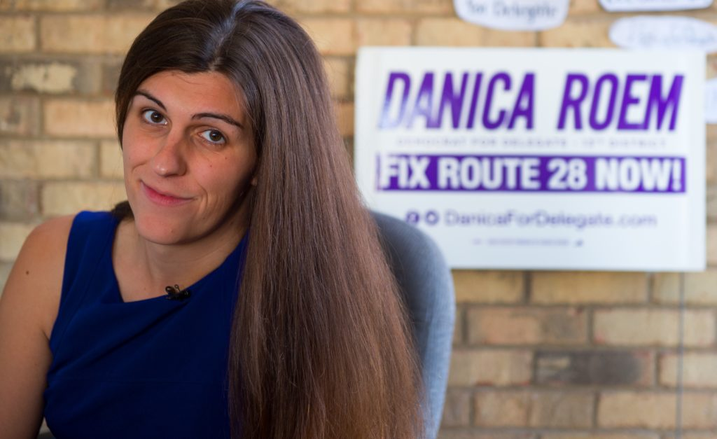 Danica Roem, a Democrat for Delegate in Virginia's district 13, and who is transgender, raised more than $26k after being targeted by the Westboro Baptist Church.