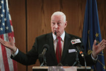 Greg Pence is the older brother of Vice President Mike Pence and has denied he or Karen Pence are anti-LGBT.
