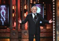Robert De Niro speaks onstage during the 72nd Annual Tony Awards