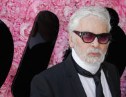 Photo of Karl Lagerfeld who has died aged 85
