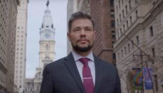 Henry Sias is asking Philadelphians to vote for his to become the first trans male judge in the US.
