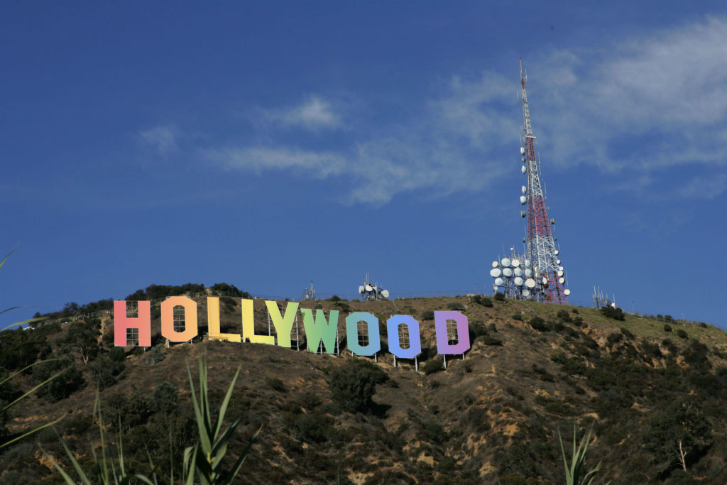 Unmade LGBT+ movies: The famous Hollywood Sign (David Livingston/Getty)